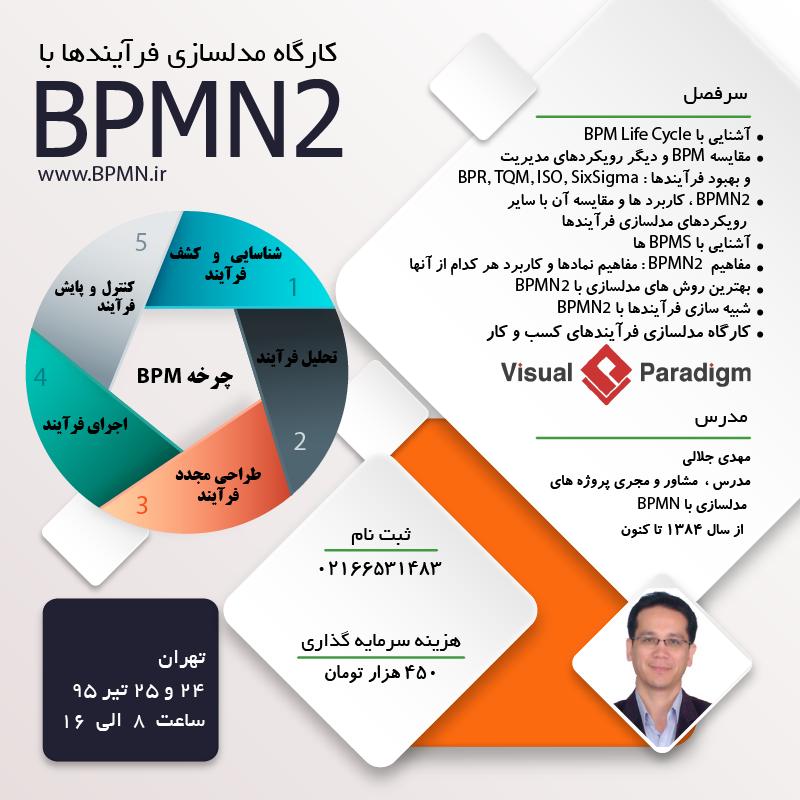 کارگاه های آموزشی BPMN